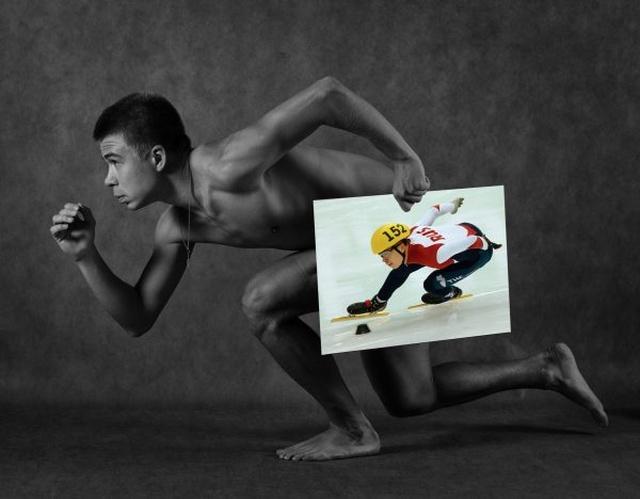 Смелая фотосессия в честь пятилетия открытия XXII зимних Олимпийских игр в Сочи. мир