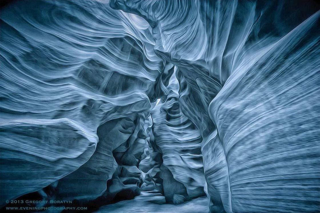 Удивительная красота каньона Антилопы природа