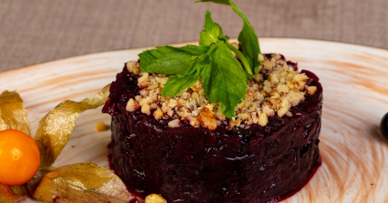 Необычные салаты из свеклы кулинария