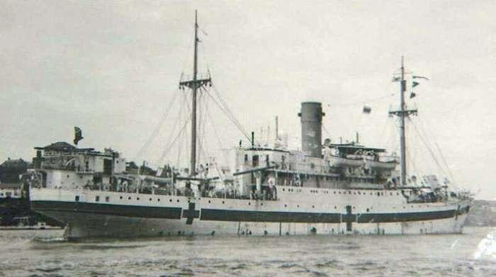 «Центавр» — госпитальное судно   Интересное
