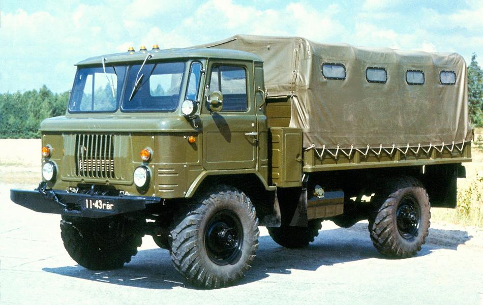 ГАЗ 66: копия, ставшая легендой инвентарь