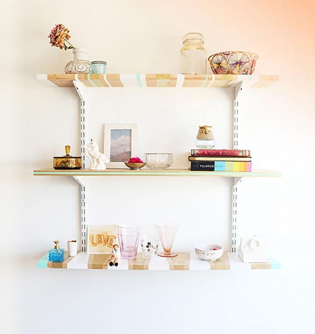 Творческие способы сделать свои собственные полочки идеи для дома