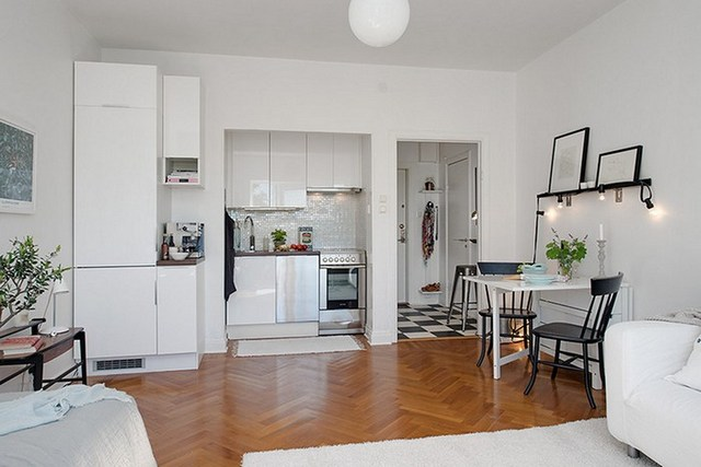 Кухня в квартире студии: лучшие идеи по обустройству с примерами интерьер и дизайн