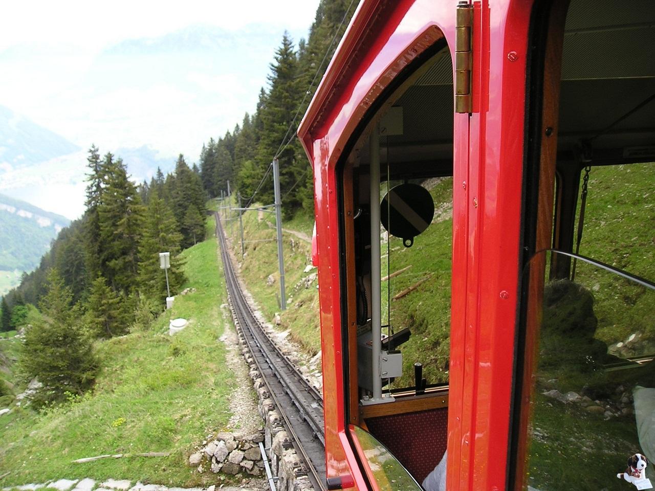 Пилатусбан — самая крутая железная дорога в мире автотуризм