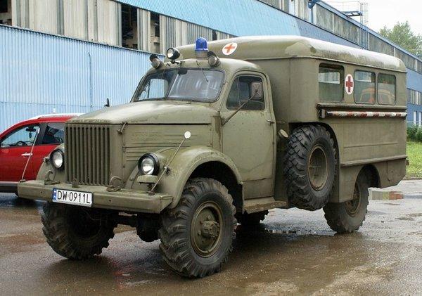 Грузовик, покоривший бездорожье. ГАЗ-63 авто