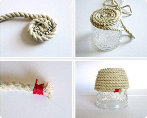 Коврики, панно и другие предметы из веревок веревка