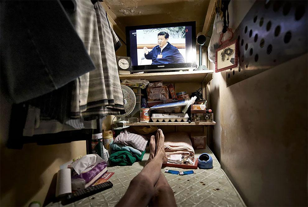 Жизнь в коробке: внутри гонконгских крошечных квартир архитектура